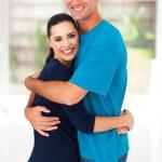 Loving couple hugging — Stock Photo #23776023