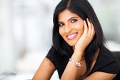 Beautiful indian white collar worker — Stock Photo
