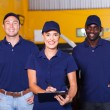 Auto repair shop workers — Stock Photo