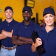 Garage workers — Stock Photo