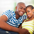Royalty-Free Stock Photo: Portrait of young afro american couple