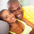 Smiling african couple — Stock Photo #24413115