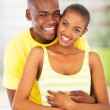 Cheerful african lovers — Stock Photo #24413971