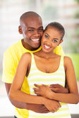 Cheerful african lovers — Stock Photo