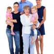 Big family — Stockfoto