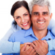 Stock Photo: Middle aged couple