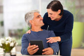 Loving middle aged couple — Stock Photo