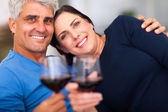 Mature couple having good time — Stock Photo