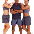 Young healthy fitness people - Foto Stock