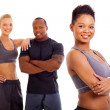 Stock Photo: Africwomin sportswear