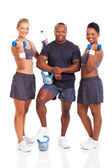 Healthy group of young fit — Stock Photo