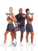 Group of young healthy — Stock Photo
