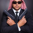 Arabic secret service agent — Stock Photo #25421589