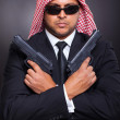 Arabic secret service agent — Stock Photo