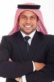 腕を組んでアラビアの実業家 — ストック写真