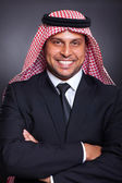 Middle eastern businessman — Stock Photo