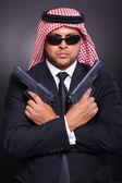 Arabic secret service agent — Stock Photo