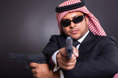 Arabian spy — Stock Photo