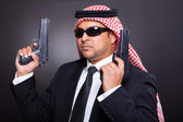 Middle eastern hitman — Stock Photo