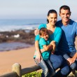 Stockfoto: Family at the beach