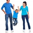 Happy family having fun — Stock Photo #25516757