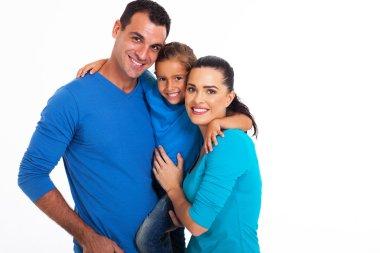 Portrait of happy family
