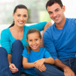 Lovely family at home — Stock Photo #25521609