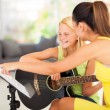Guitar lesson — Foto Stock #26286565