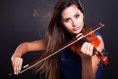 Professional violinist — Stock Photo