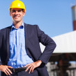 Stock Photo: Industrial manager