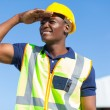 African builder — Stock Photo #26343601