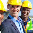 Stock Photo: Construction engineers