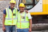 Compañeros de trabajo industriales — Foto de Stock
