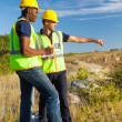 Surveyors at work — Stock Photo #26385043