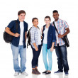 Royalty-Free Stock Photo: Group of high school students