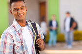 Male indian high school student — Stock Photo