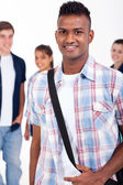 Handsome indian high school student — Stock Photo