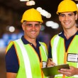 Stock Photo: Warehouse workers