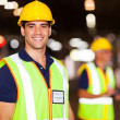 Young warehouse worker — Stock Photo