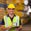 Young warehouse worker — Stock Photo #27051509