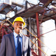 Chemical industry manager — Stock Photo