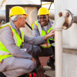 Oil chemical industry technicians — Stock Photo #27587093