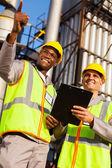 Chemische Industriearbeiter — Stockfoto