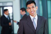 Modern middle eastern businessman — Stock Photo
