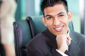 Headshot of young Arabian businessman — Stock Photo