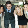 Business people huddling — Stockfoto #27903555