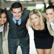 Business people huddling — Stock Photo #27903555
