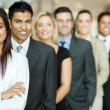 Stock Photo: Group of business team