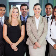 Stock Photo: Group of young businesspeople