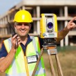 Land surveyor — Stock Photo #28249097